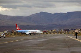 تمام پروازهای فرودگاه کرمانشاه برقرار است/ توفان تاثیری بر پروازها نداشته است