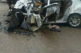 تصادف خونین در محور حمیل / انحراف به چپ خودروی سمند جان ۳ تن را گرفت