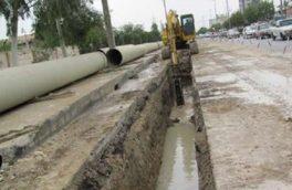 ۱۶ میلیارد ریال برای پروژه شبکه جمع آوری فاضلاب شهر سنقر هزینه شده است
