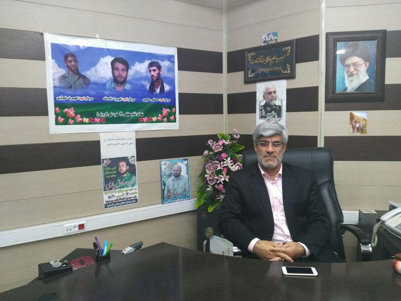 سردار بدری: دفاع مقدس گنجینه ارزشمندی برای تعالی جوانان است / آرامش امروز را مدیون ایثار شهیدان هستیم
