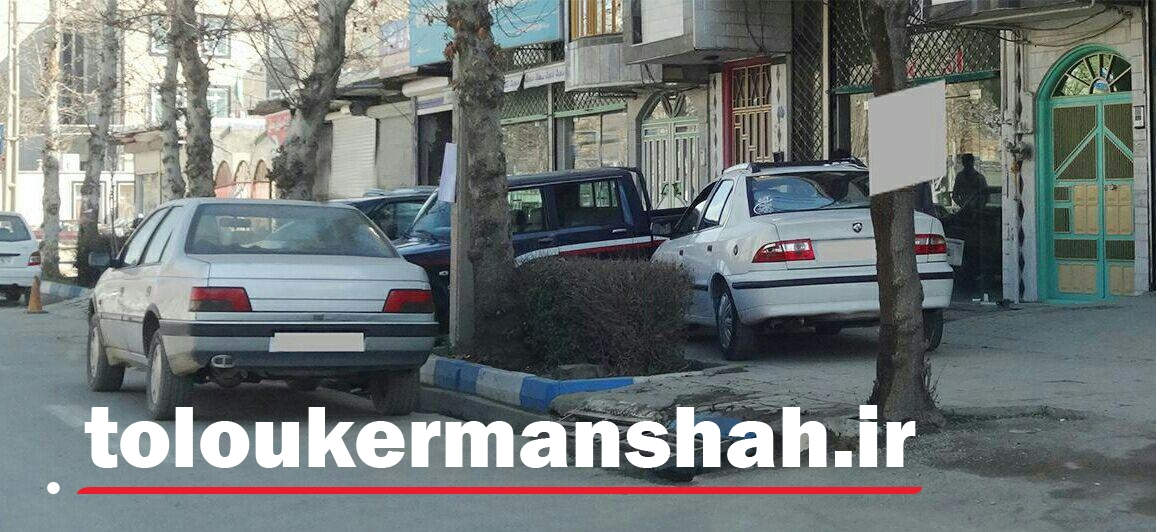 حریم امن پیادهروها در تسخیر نمایشگاههای خودرو/ سلب آسایش شهروندان کنگاوری به بهای پارک خودروهای مزاحم