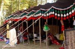 از دهکده عشایری تاق بستان در نوروز دیدن کنید