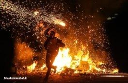 آمادهباش ۱۷۰ آتشنشان کرمانشاهی برای«چهارشنبه سوری»
