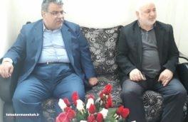 دیدار شهردار کرمانشاه باخانواده شهید علیخانی