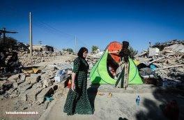 اجرای طرح پیشگیری از بیماریهای واگیر دار در مناطق زلزله زده استان کرمانشاه