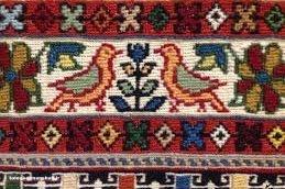 میراث فرهنگی برای ثبت جهانی گلیم دورویه هرسین تلاش میکند