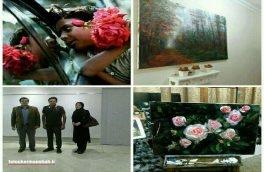 برگزاری نمایشگاه بزرگ خیریه نقاشی برای حمایت از زلزلهزدگان در کرمانشاه