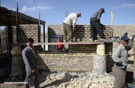 کار سقف گذاری ۱۶۰۰ واحد مناطق زلزله زده پایان یافت