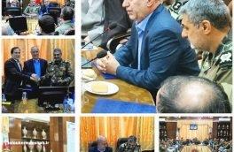انعقاد تفاهم نامه همکاری مشترک میان هلال احمر و فرماندهی منطقه غرب ارتش