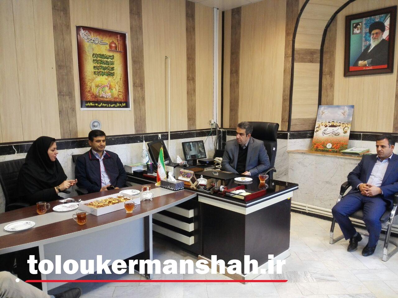 نگاه ویژه سرپرست شهرداری کرمانشاه به زنان