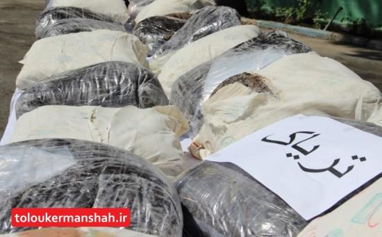 """کشف ۴.۲ تن انواع """"مواد مخدر"""" و """"پیشساز"""" در کرمانشاه"""