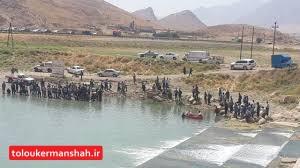 طغیان گاماسیاب، سه روستای بیستون را تخلیه کرد