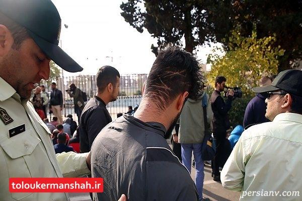 زمین گیر شدن اوباش سابقه دار در کرمانشاه