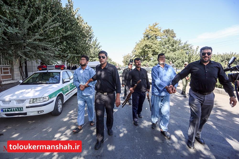 عاملان نزاع دسته جمعی در هرسین دستگیر شدند
