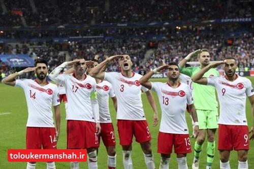 شادمانی بحث برانگیز تیم فوتبال ترکیه؛ این بار در پاریس (+عکس)