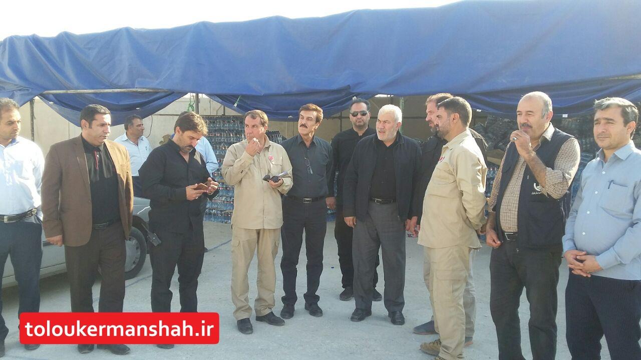 عملکرد صنعت آب و برق استان کرمانشاه در خدمات رسانی به زوار اربعین مناسب است