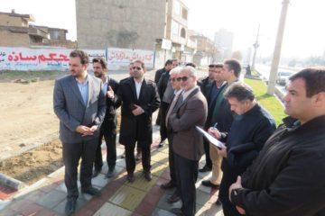 بازدید اعضای شورای شهر کرمانشاه از سطح منطقه شش