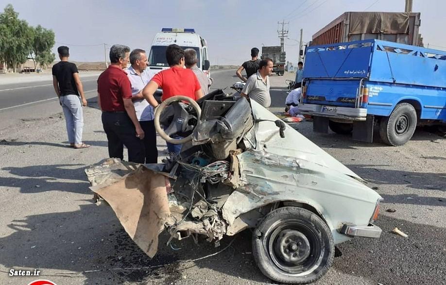 تصادف مرگبار در جاده سنقر ۶ کشته و زخمی بر جای گذاشت