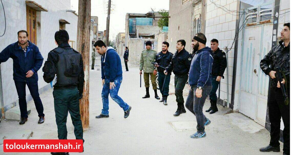 دستگیری عوامل تیراندازی در کرمانشاه