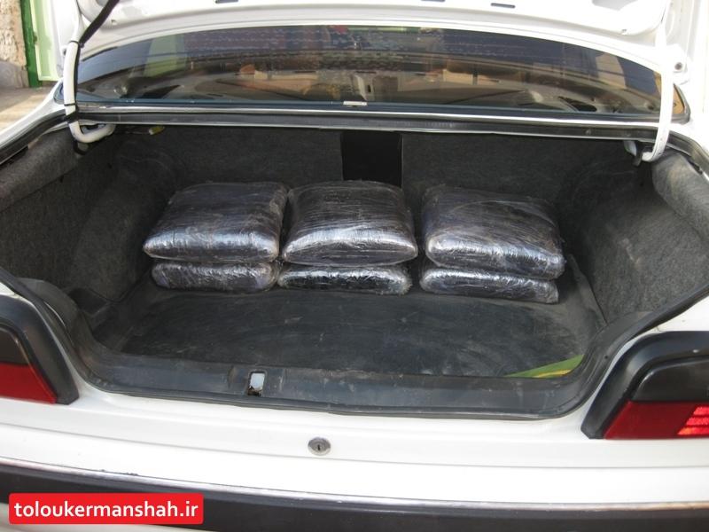 کشف ۸۰ کیلوگرم تریاک در کرمانشاه