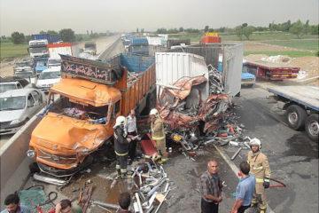 سفر بی بازگشت ۹۳ نفر در جاده های کرمانشاه/کاهش ۱۳ درصدی مجروحان سوانح رانندگی