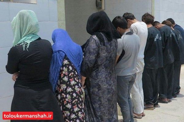 انهدام باند سارقان گوشی تلفن همراه در کرمانشاه