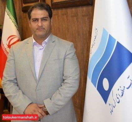 تمدید دوره دوساله مدیریت مهندس بهرام درویشی بعنوان مدیر عامل شرکت آب منطقه ای کرمانشاه