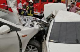 سانحه رانندگی در محور روانسر – جوانرود یک کشته و ۲ زخمی به جاگذاشت
