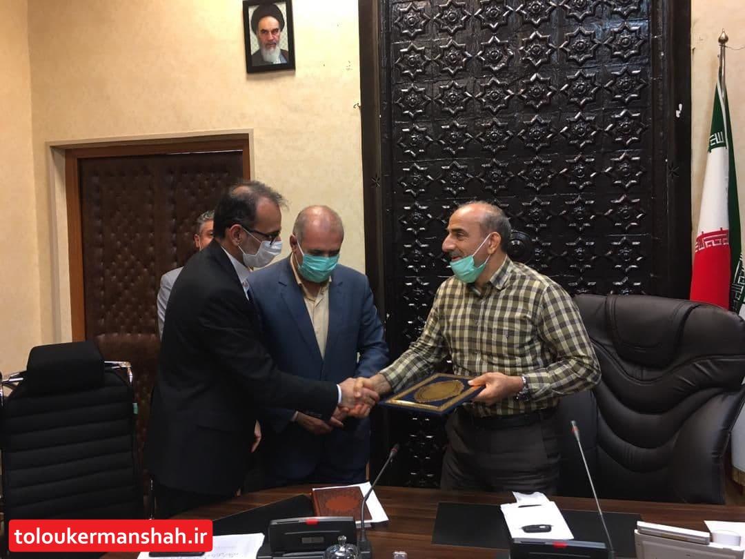 مدیرکل مالی شهرداری کرمانشاه تقدیر شد