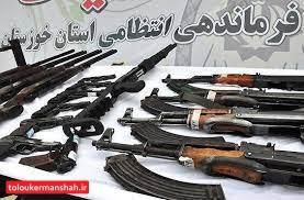 کشف ۲۷ قبضه سلاح غیرمجاز/دستگیری ۸۶ سارق و اراذل و اوباش