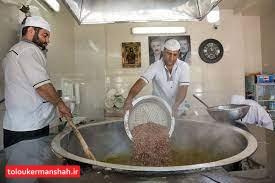 آش « عباسعلی» نگین سفره افطار کرمانشاهیان در ماه رمضان