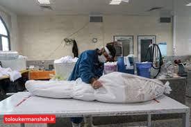 فوت ۱۲ کرمانشاهی دیگر طی شبانه روز گذشته/شمار جان باختگان در استان به یک هزارو۷۲۷نفر رسید
