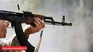 قتل با شلیک گلوله در کرمانشاه / ۶ نفر راهی بیمارستان شدند