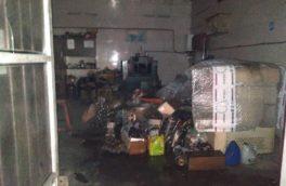 آتش سوزی فروشگاه لوازم یدکی در خیابان اربابی مهار شد