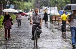 باران تابستانه در راه آسمان کرمانشاه/ دمای هوا تغییر چندانی نمیکند
