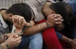 سارقان مسلح در جوانرود دستگیر شدند/کشف اسلحه و ۹ تیر جنگی