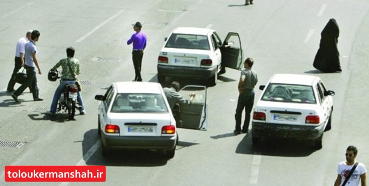 آغاز طرح برخورد با مسافربرهای شخصی کرمانشاه/ توقیف و هدایت ۱۴ خودرو متخلف به پارکینگ