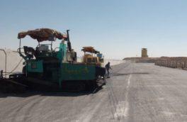 ساماندهی جاده ورودی مرز رسمی پرویزخان ۷۰ درصد پیشرفت فیزیکی دارد