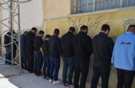 دستگیری ۸ نفر از عوامل نزاع و درگیری دردالاهو