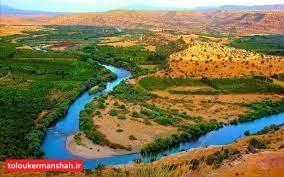 رودخانههای کرمانشاه برای فصل بارش آمادهاند